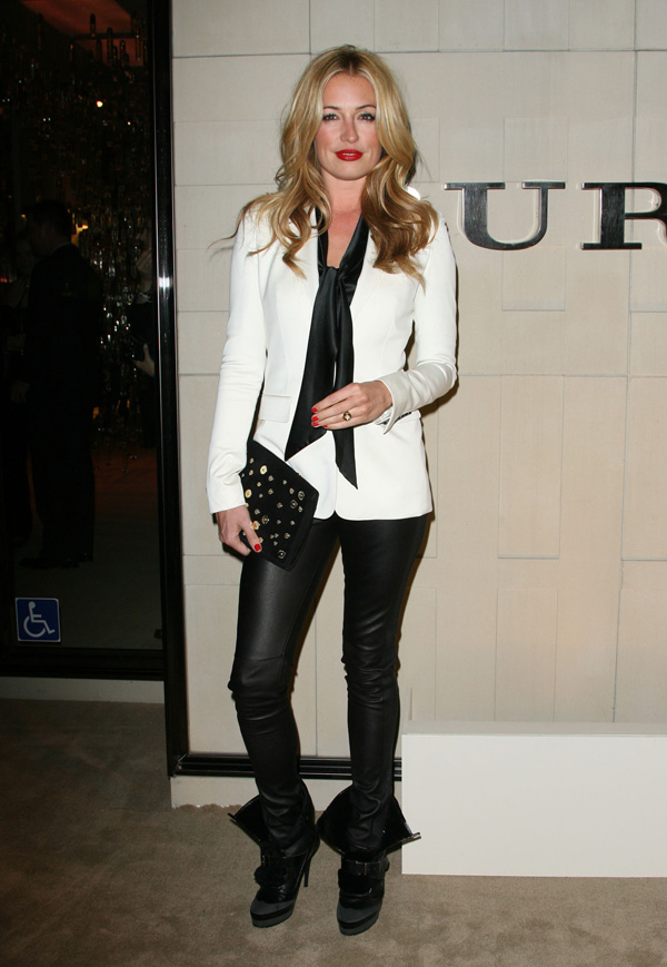 Cat Deeley  Burberry Body Launch in Beverly Hills