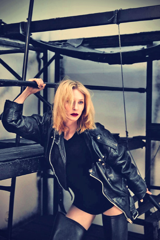 Cate Blanchett Sean & Seng Photoshoot for 032c Magazine