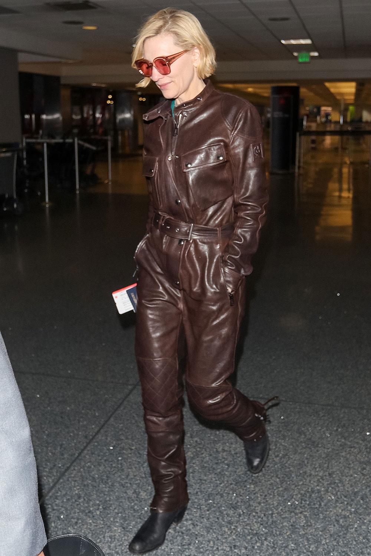 Cate Blanchett at LAX Airport in LA