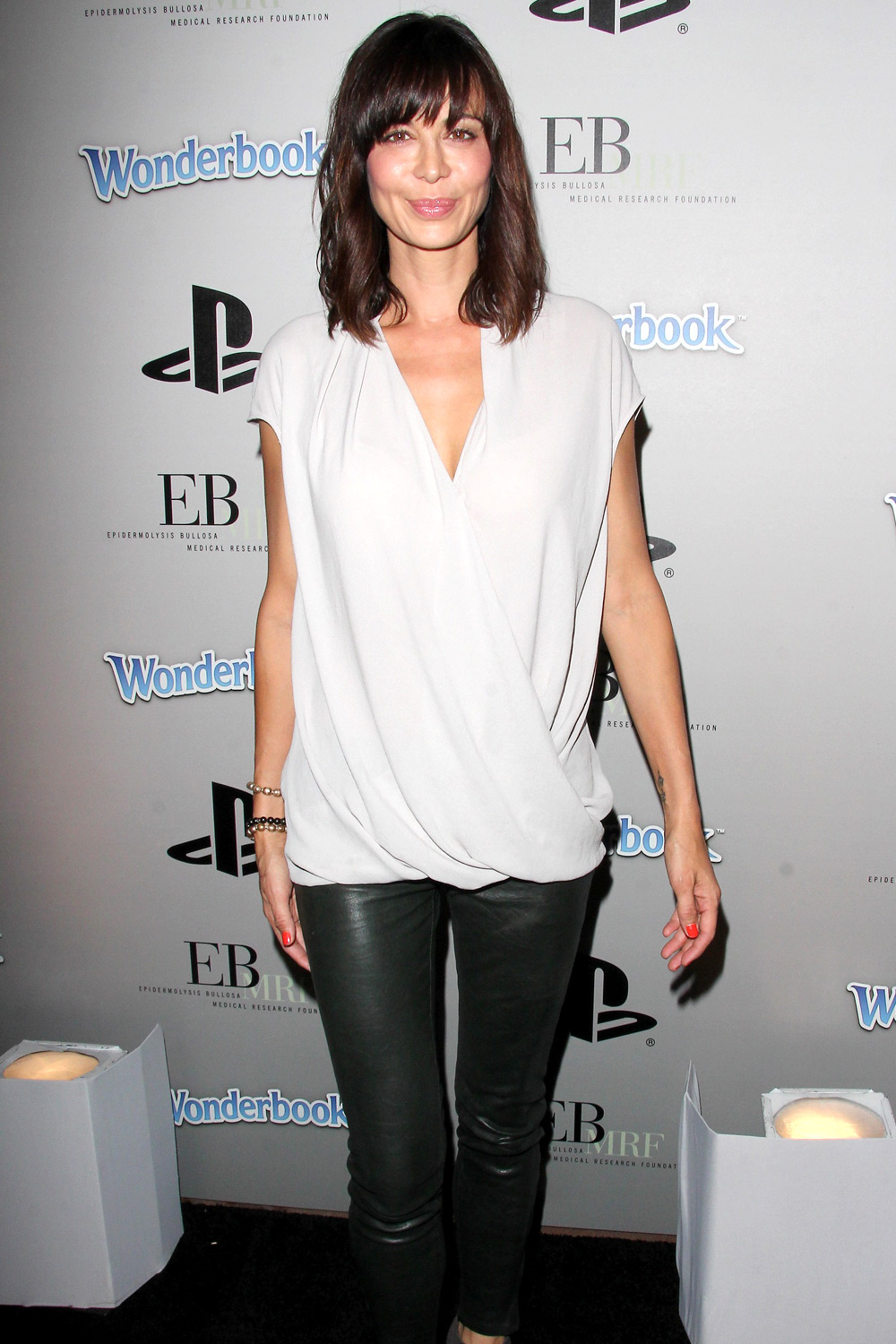 Catherine Bell at EBMRF And PlayStation Epic Halloween Bash