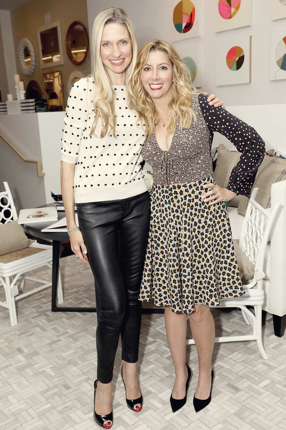 Catherine McCord attends launch of The Belly Art Project Benefiting Every Mother Counts