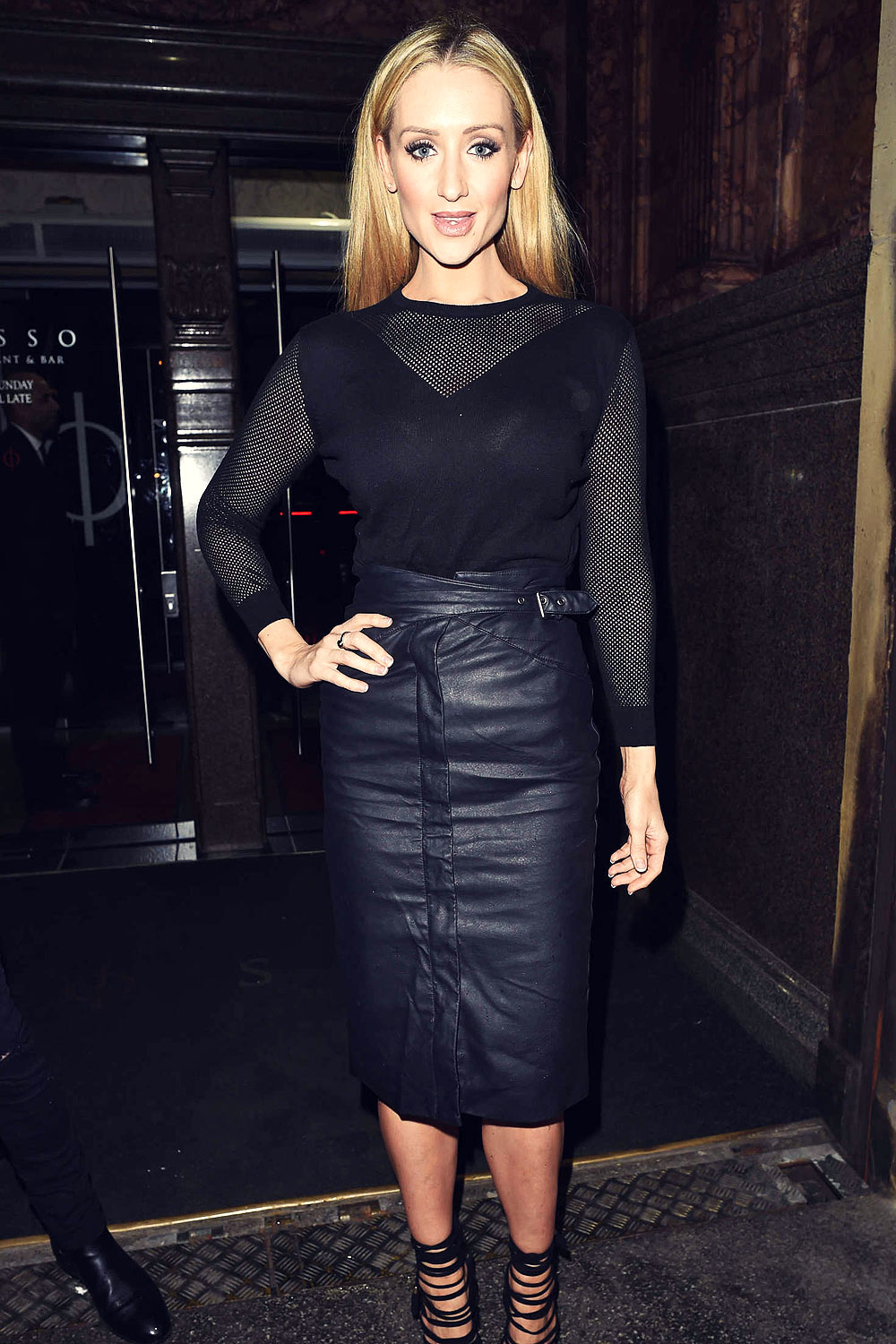 Catherine Tyldesley at Rosso Restaurant