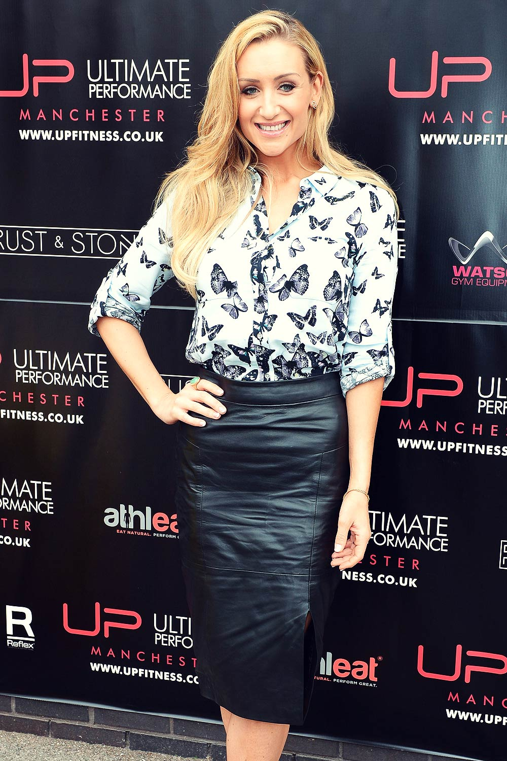 Catherine Tyldesley attends Ultimate Performance gym launch
