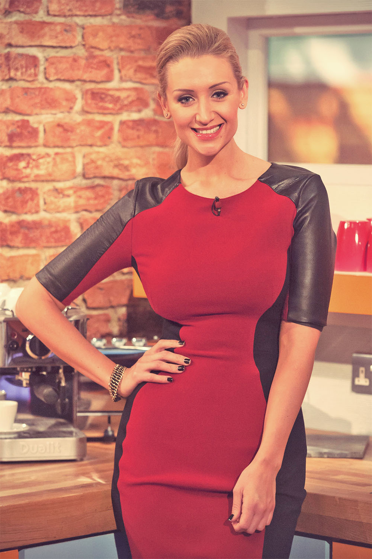 Catherine Tyldesley at ITV Daybreak