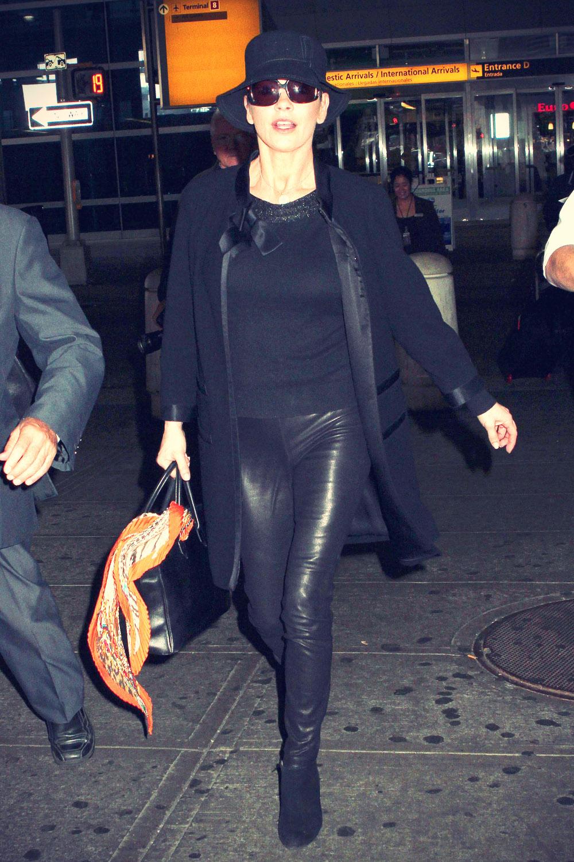 Catherine Zeta-Jones at JFK Airport