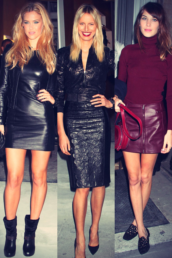 Celebrities Attend The opening of Versace's SoHo store