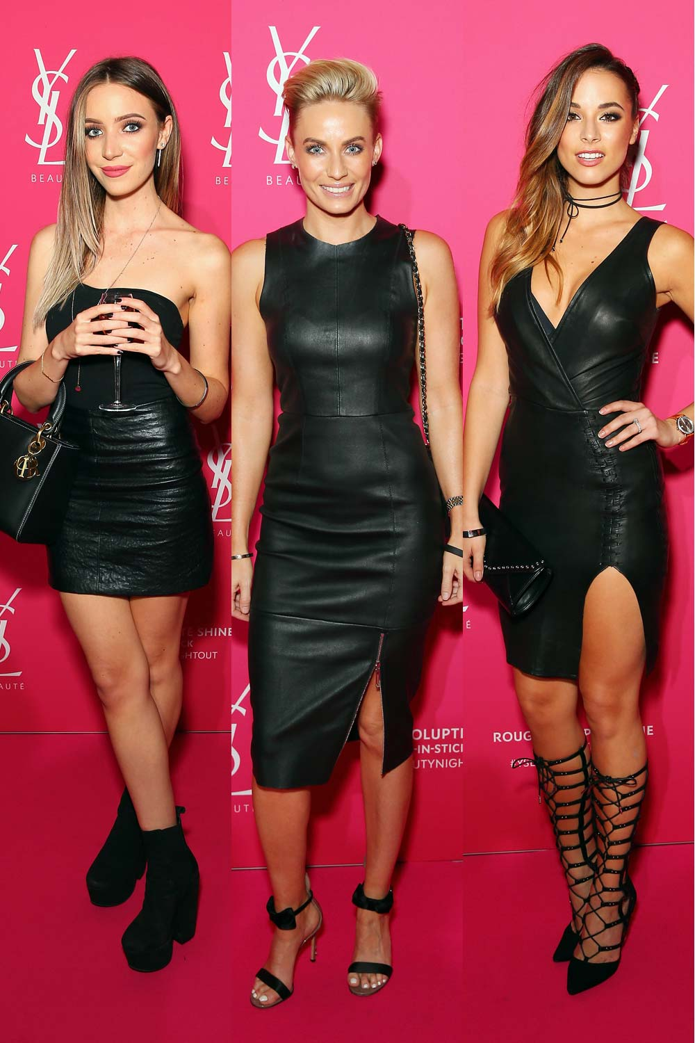 Celebs attend YSL beauty launch