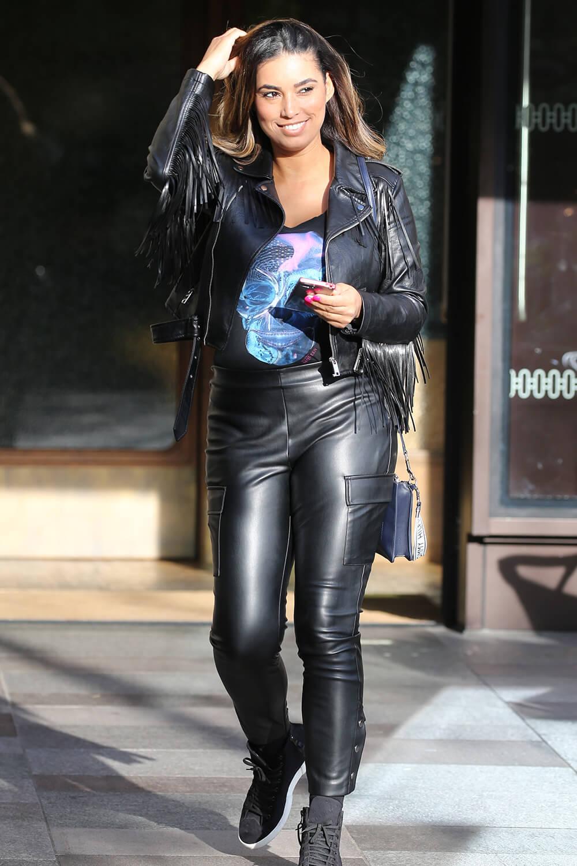 Chantelle Heskey at London ITV Studios