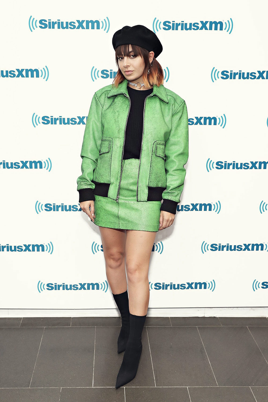 Charli XCX at SiriusXM Studios