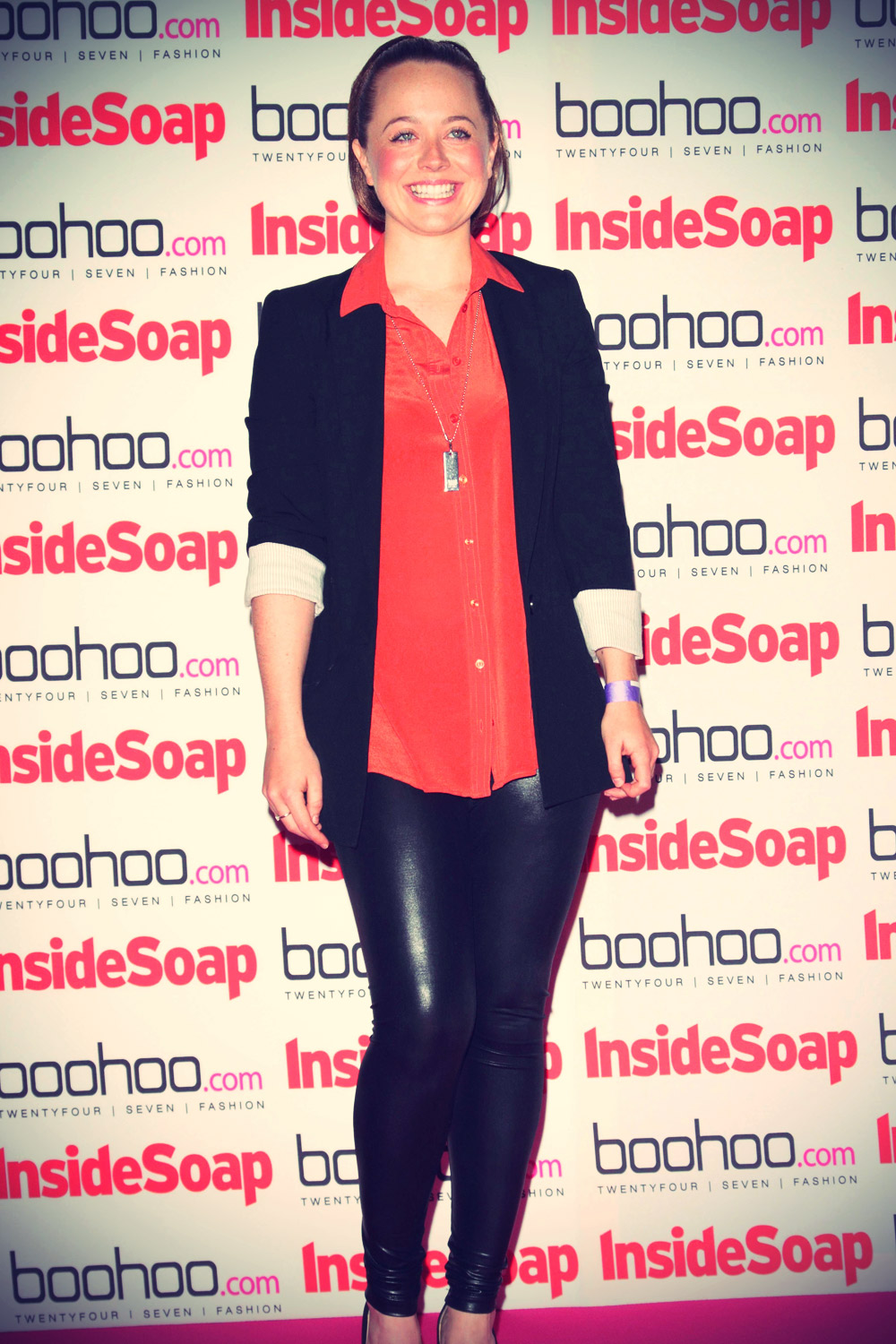 Charlie Clemmow at the Inside Soap Awards 2012