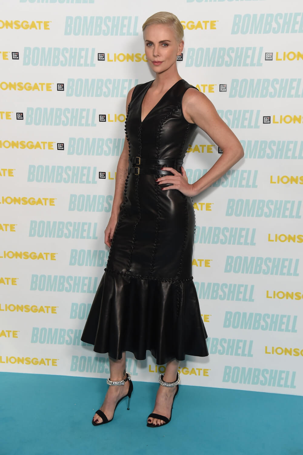 Charlize Theron attends BAFTA Q&A for ''Bombshell''