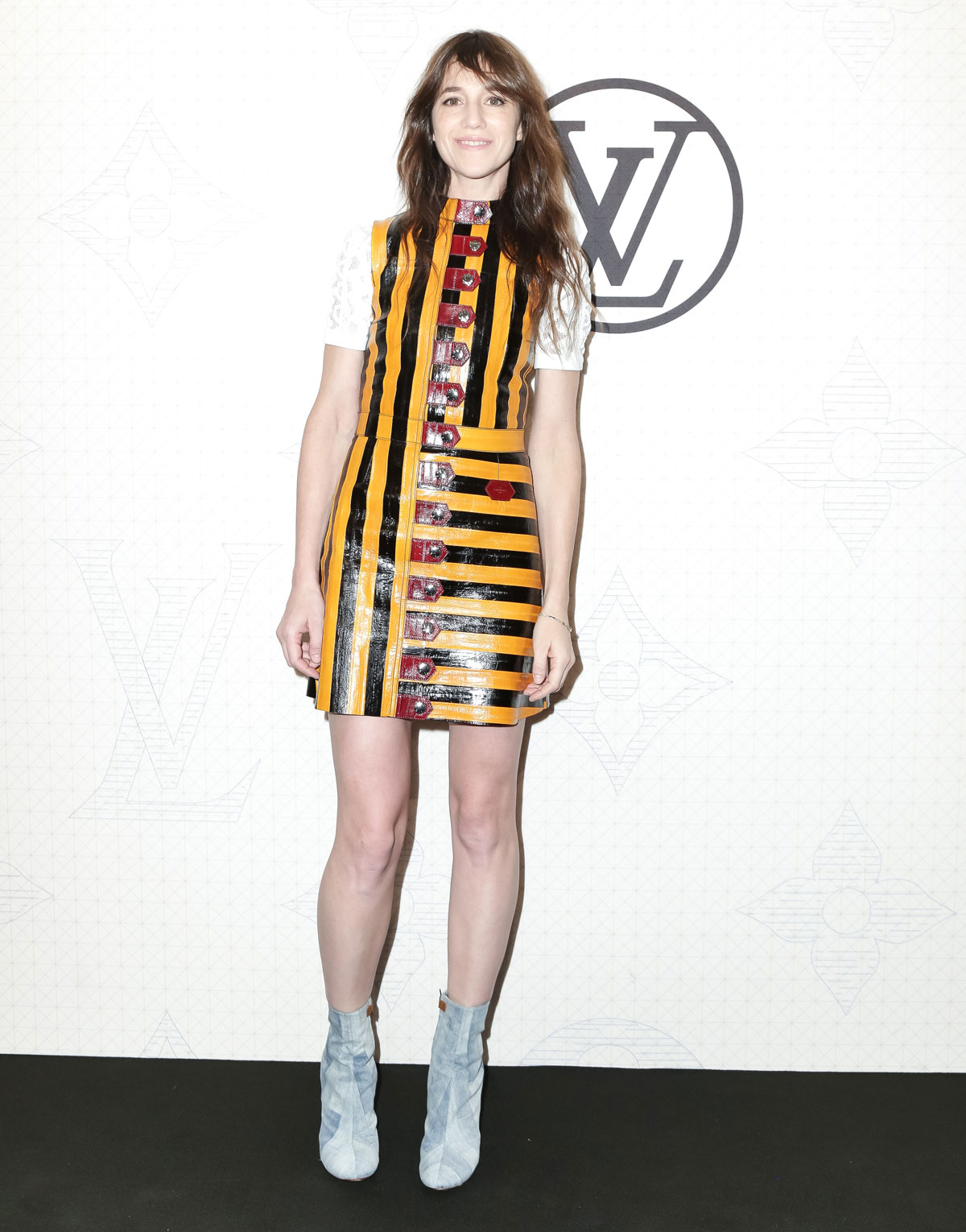 Charlotte Gainsbourg at Louis Vuitton Monogram celebration