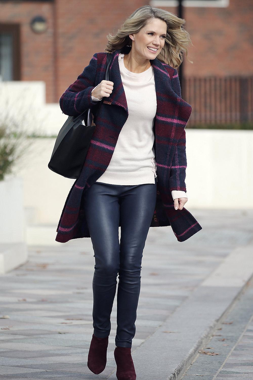 Charlotte Hawkins at ITV Studios
