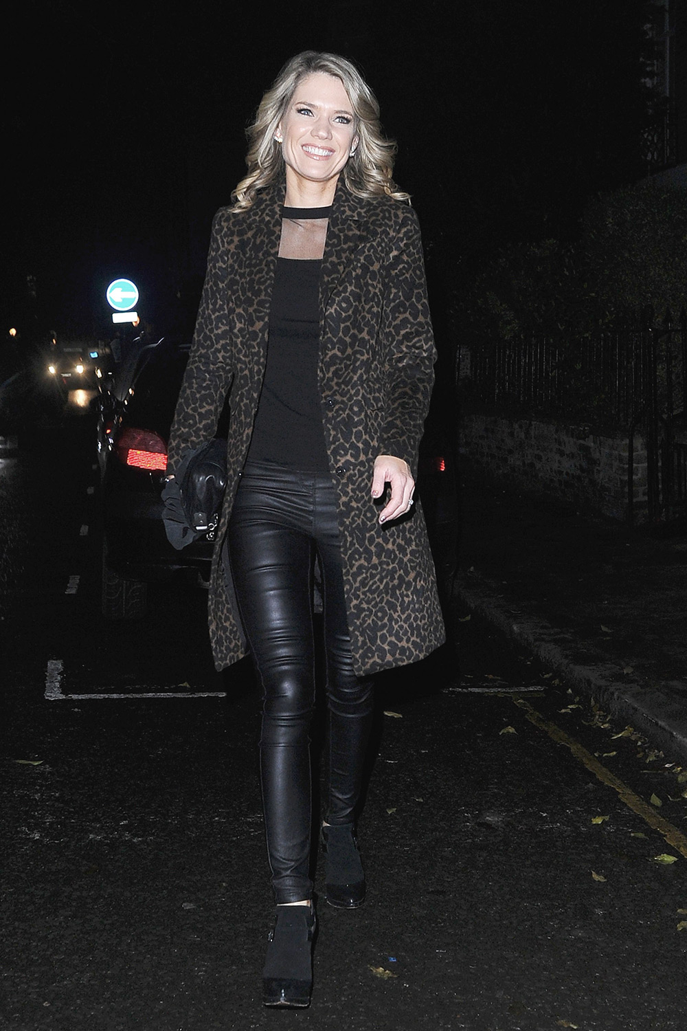 charlotte hawkins attends piers morgan�s christmas party