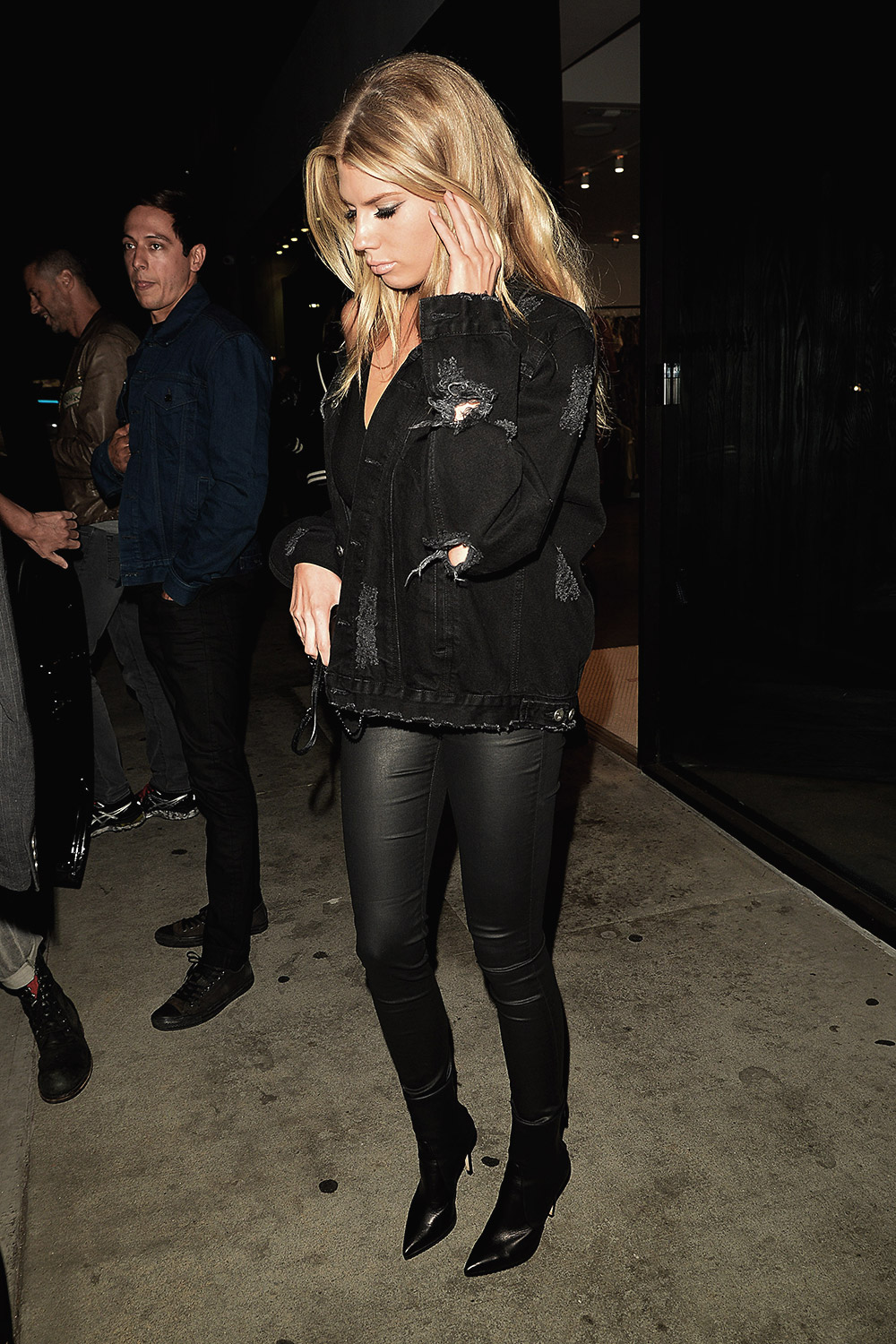 Charlotte McKinney at JAXDL1961 Party