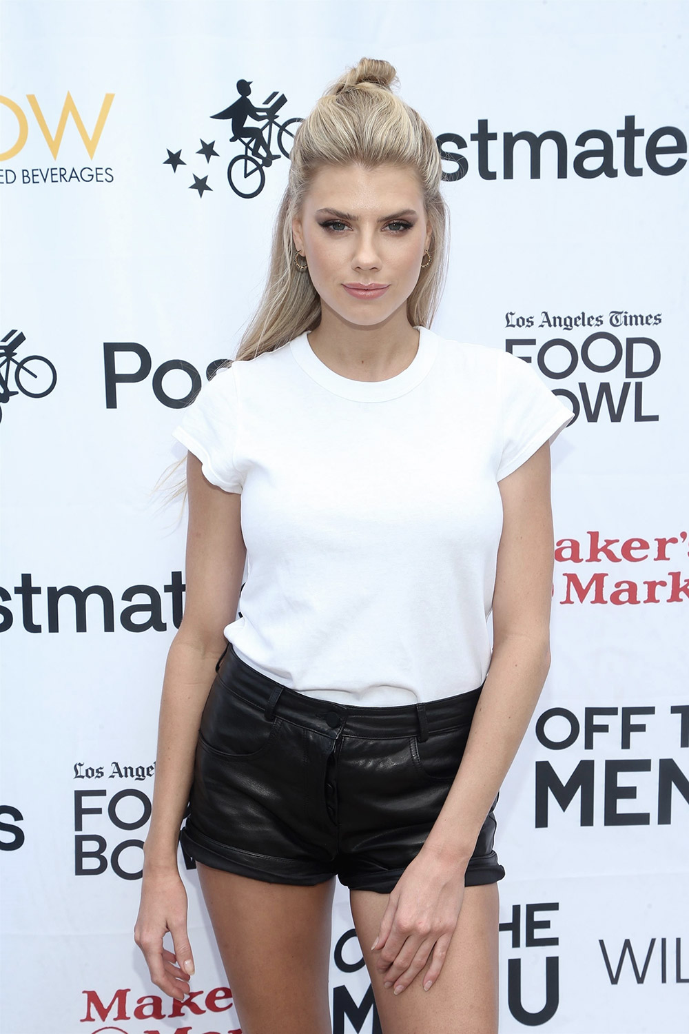 Charlotte McKinney attends Off The Menu & Postmates