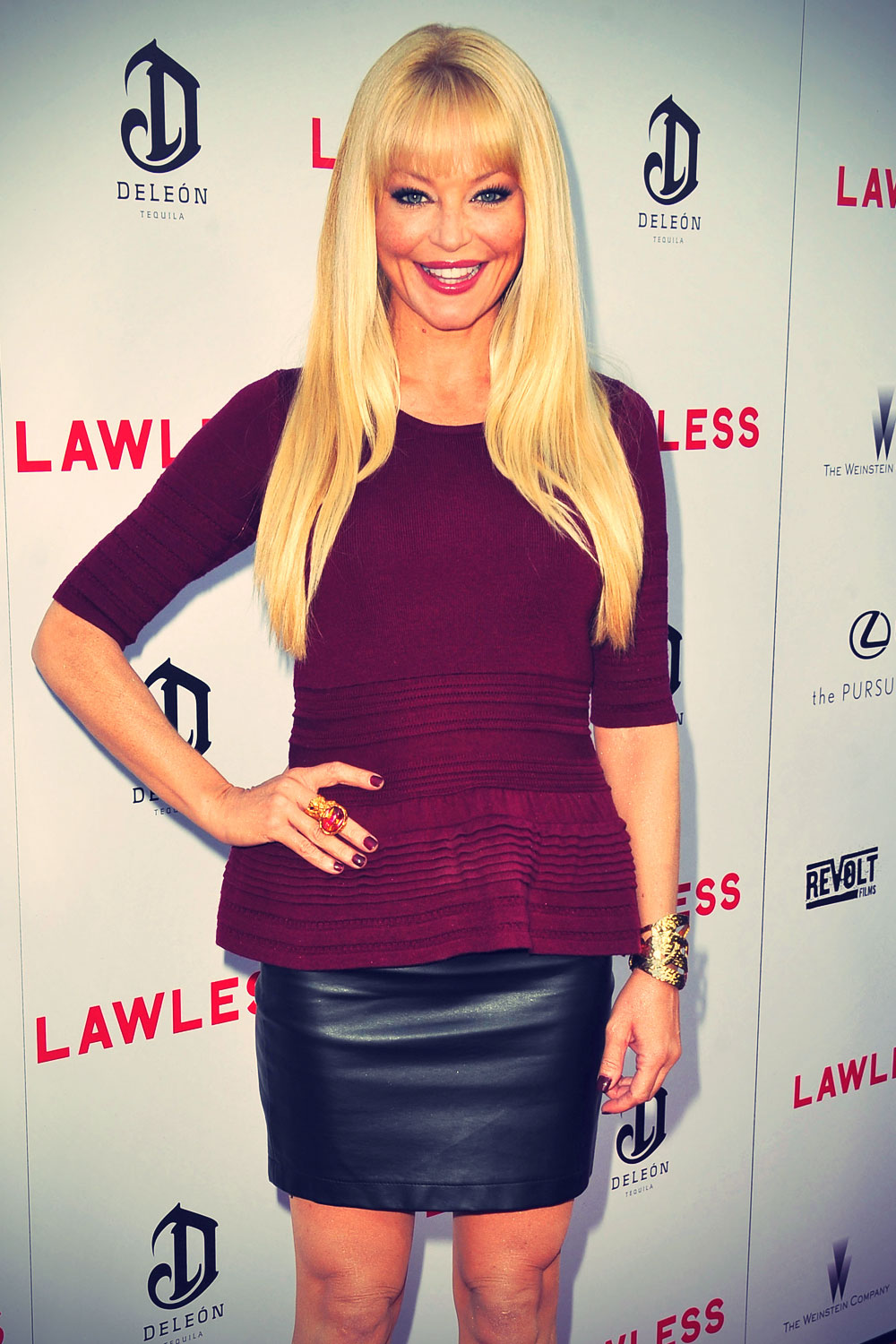 Charlotte Ross at Premiere of the Weinstein Company's Lawless