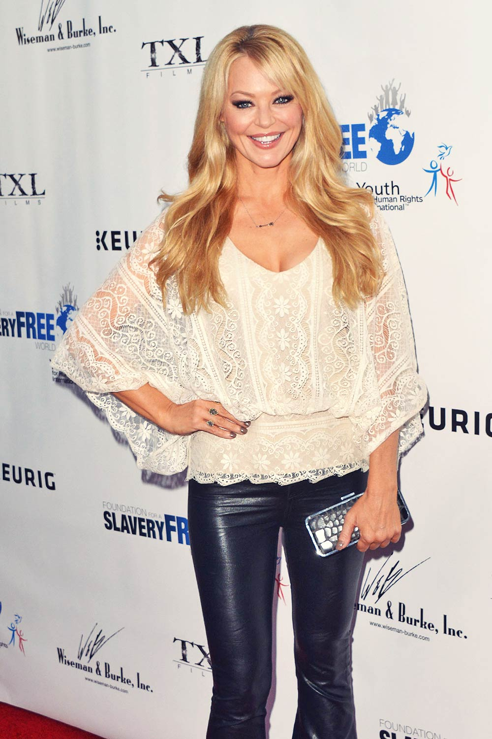 Charlotte Ross attends Human Rights Hero Awards