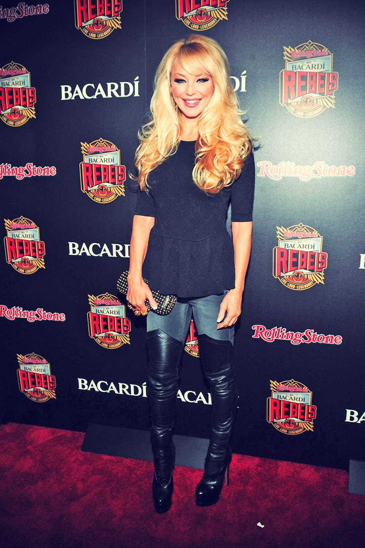 Charlotte Ross attends Rolling Stone hosts Bacardi Rebels