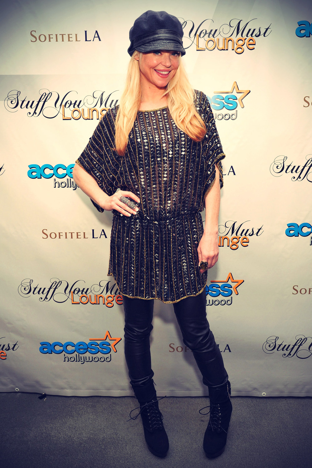 Charlotte Ross attends The Access Hollywood Stuff You Must Lounge