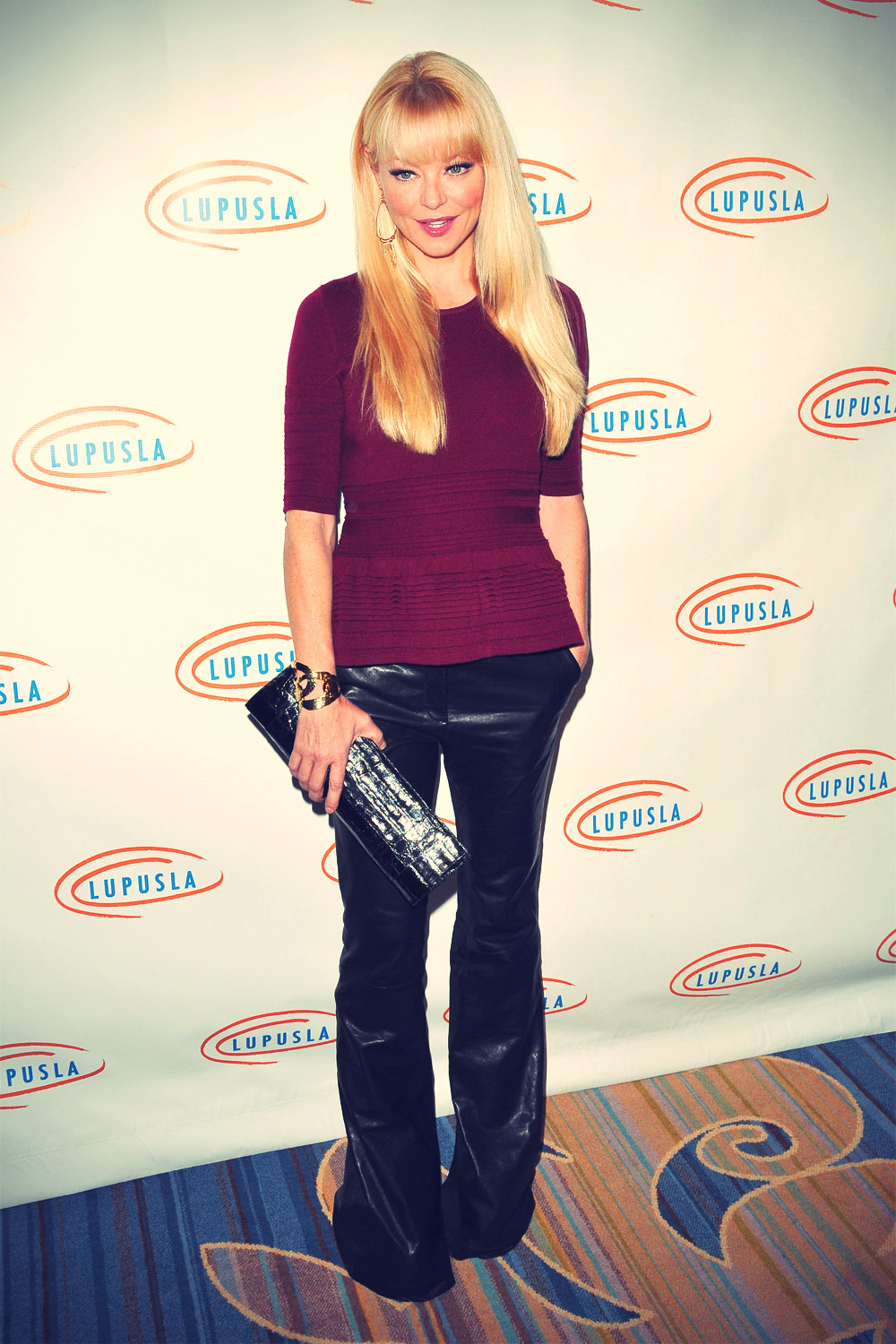 Charlotte Ross at 10th Annual Lupus LA Hollywood Bag Ladies Luncheon