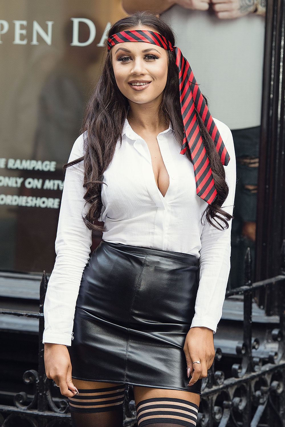 Chelsea Barber attends the Geordie Shore Radge Academy open day