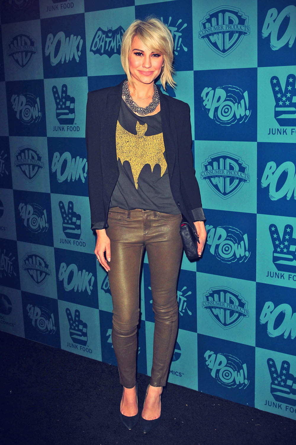 Chelsea Kane attends Batman Classic TV Series Product Line launch