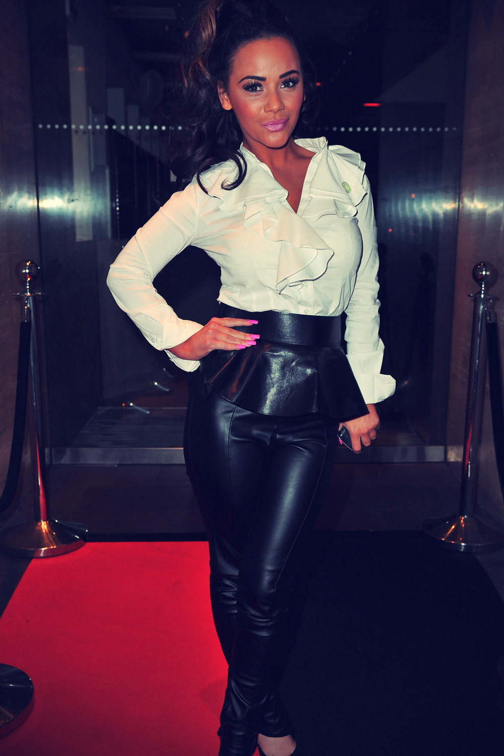 Chelsee Healey at Celebrity Cook Off