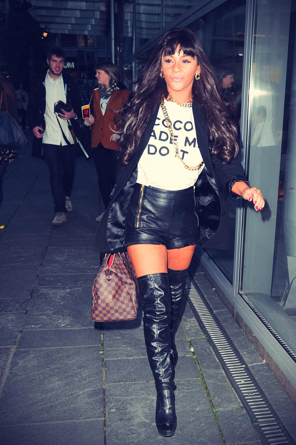 Chelsee Healey attends Vogue Fashion Night Out Manchester