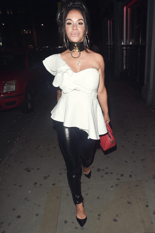 Chelsee Healey night o... Cheryl Cole