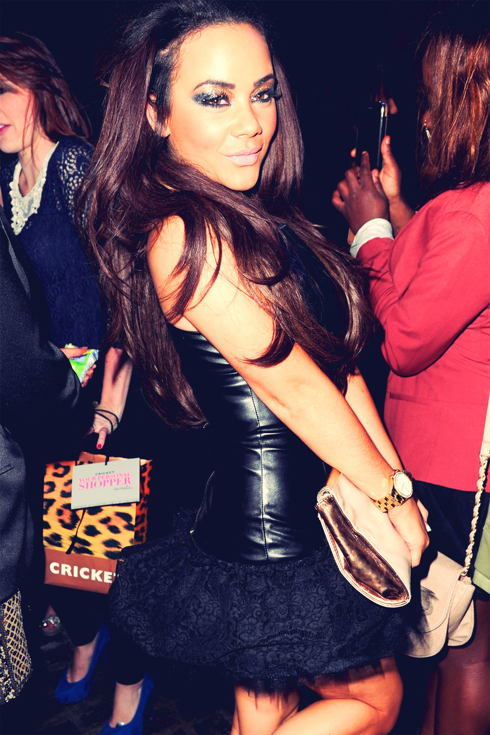 Chelsee Healey at MOBOS after party 3rd Nov 2012