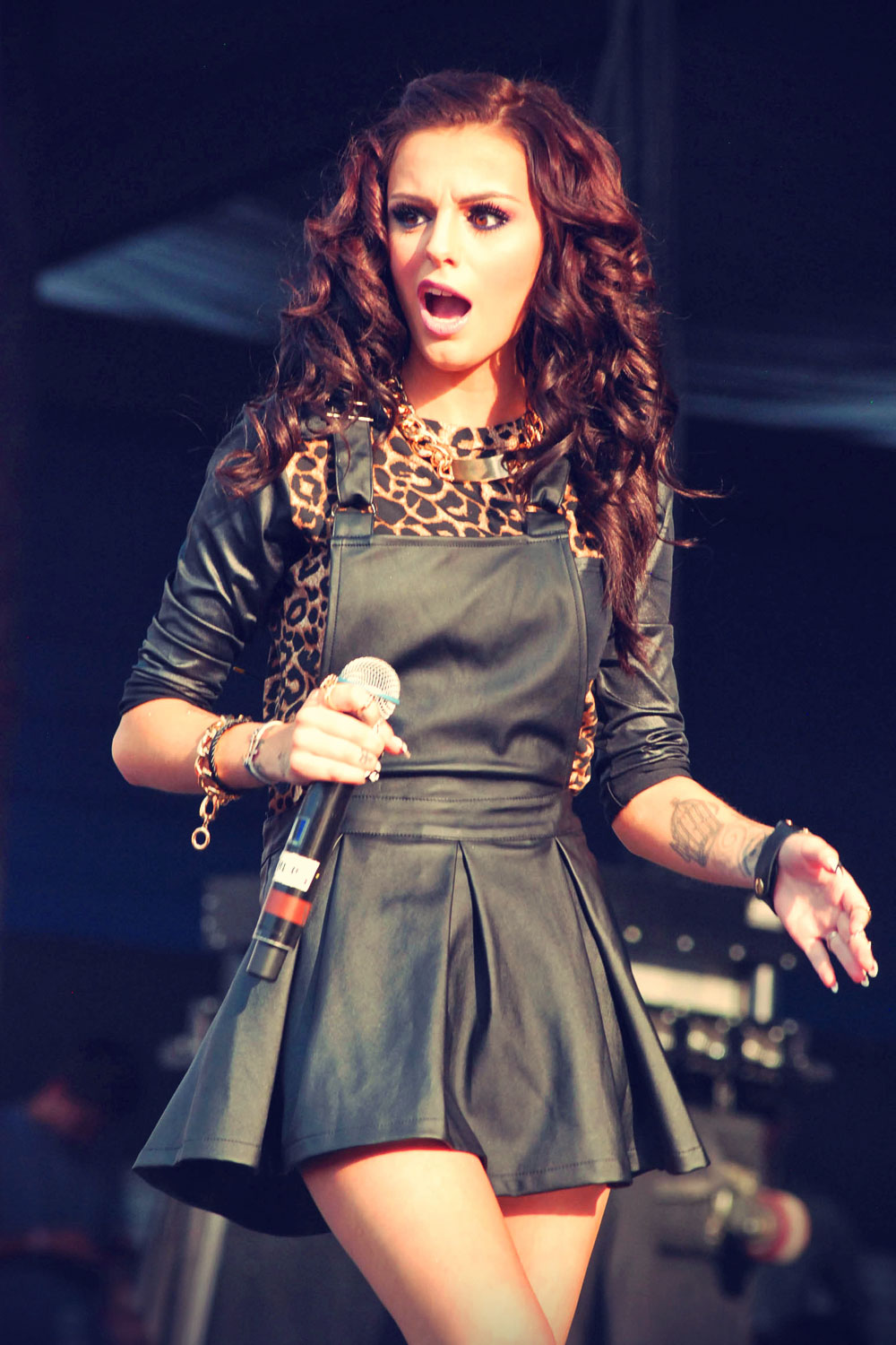 Cher Lloyd attends B96 Pepsi Summerbash