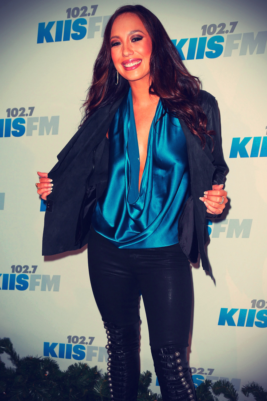 Cheryl Burke attends KIIS FM's 2012 Jingle Ball
