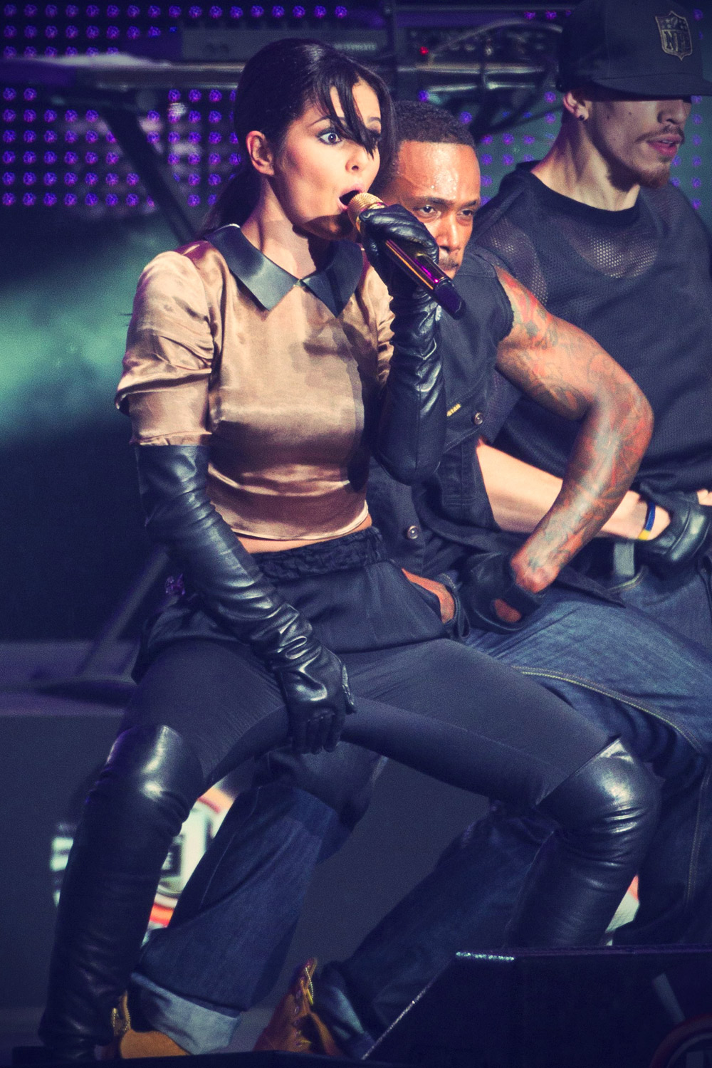 Cheryl Cole at The Voice 2012 concert
