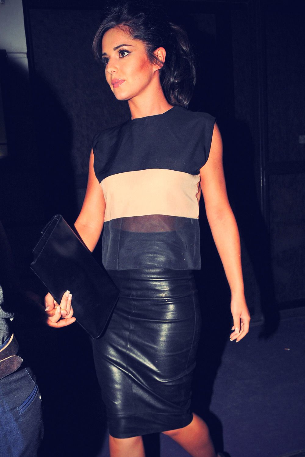 Cheryl Cole seen out in London