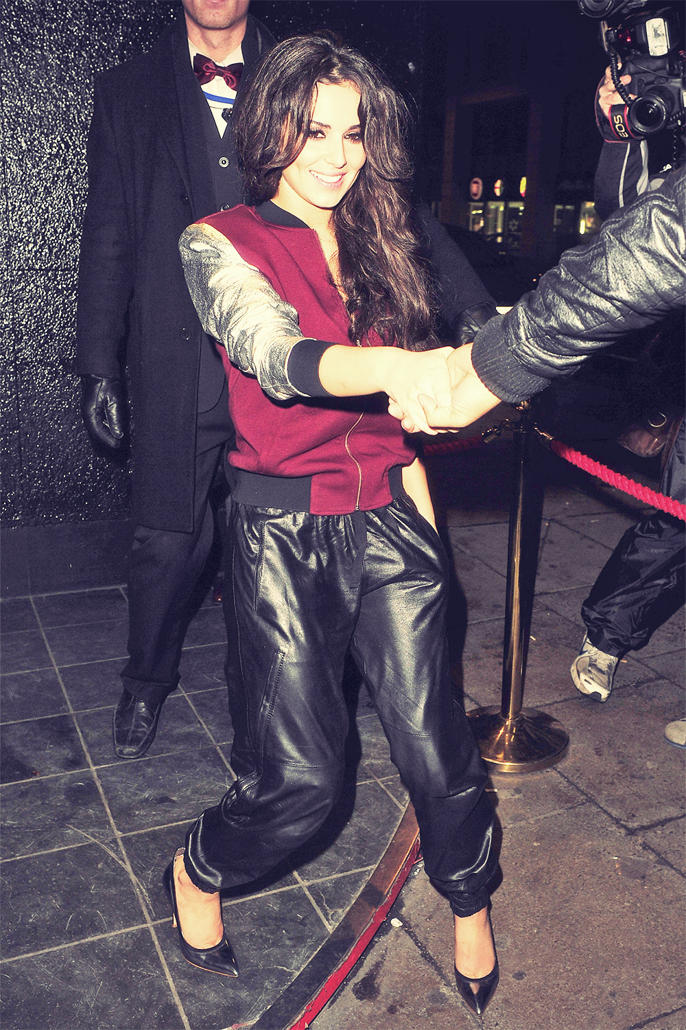 Cheryl Cole at the Rose Club in London