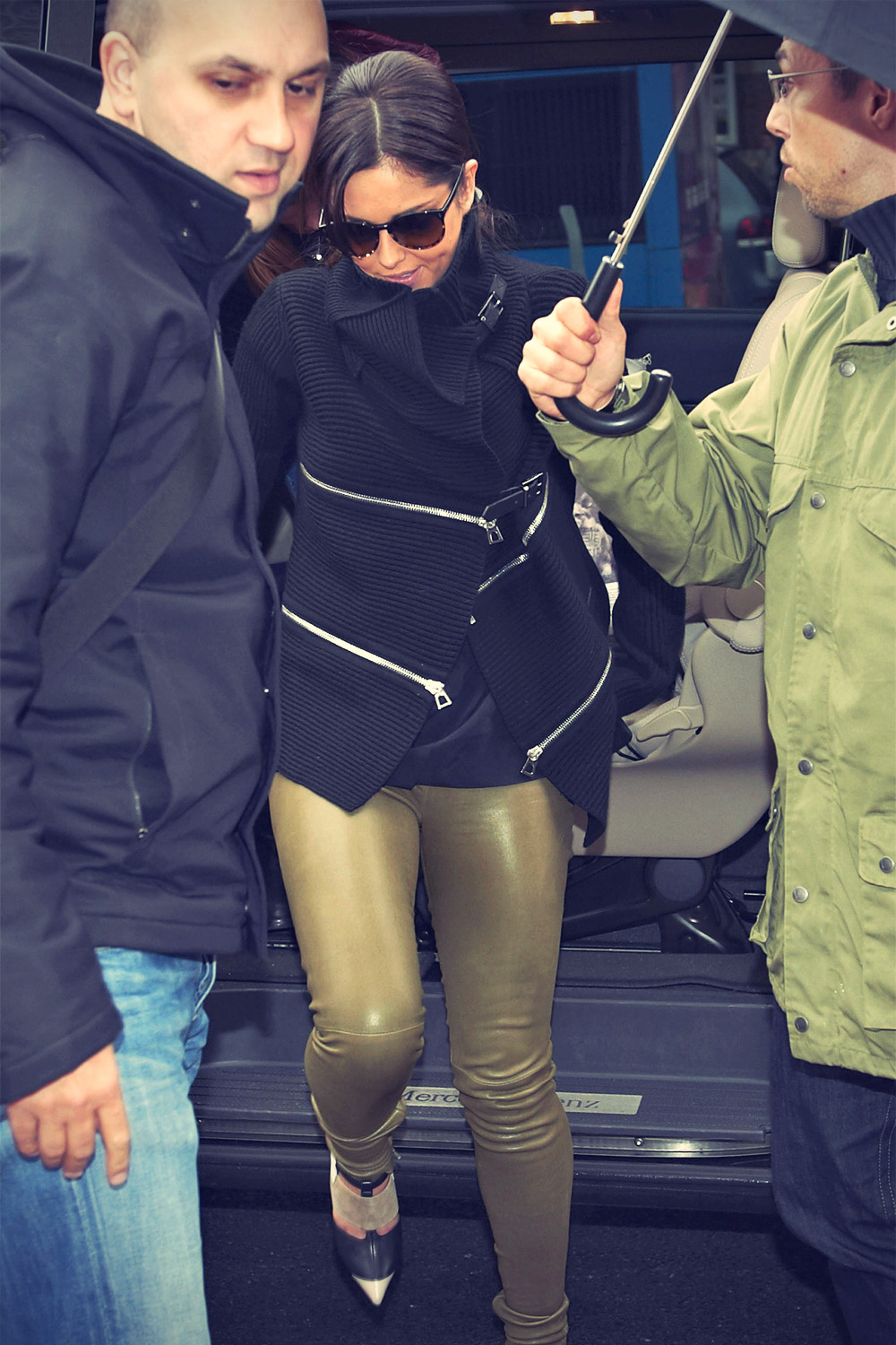 Cheryl Cole steps out in Denmark