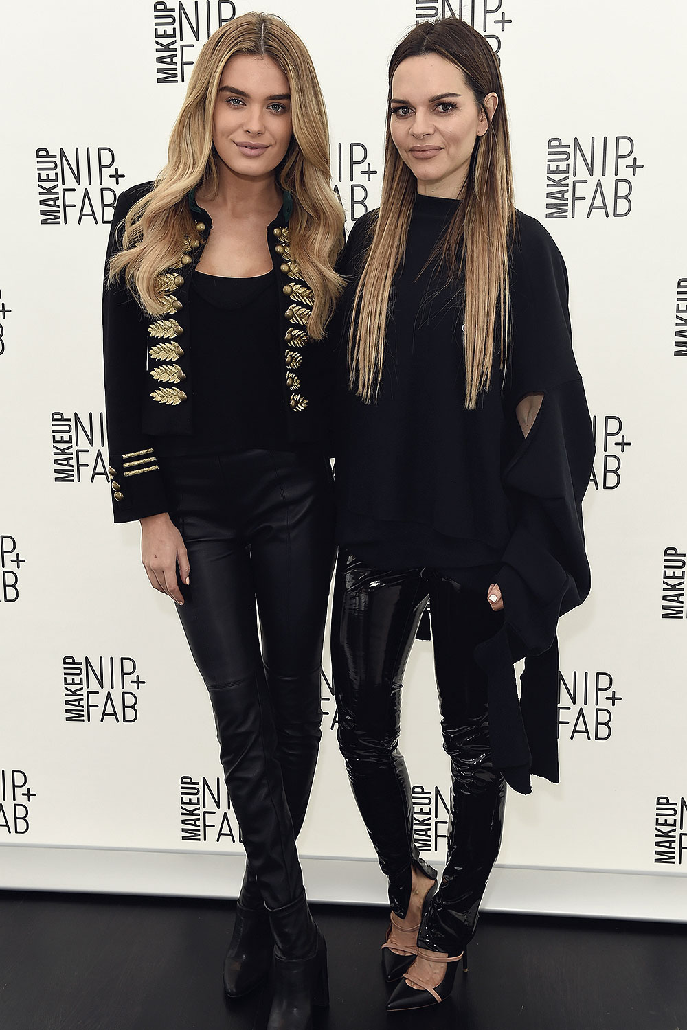 Chloe Lloyd and Maria Hatzistefanis attend the Mario Dedivanovic & Maria Hatzistefanis launch