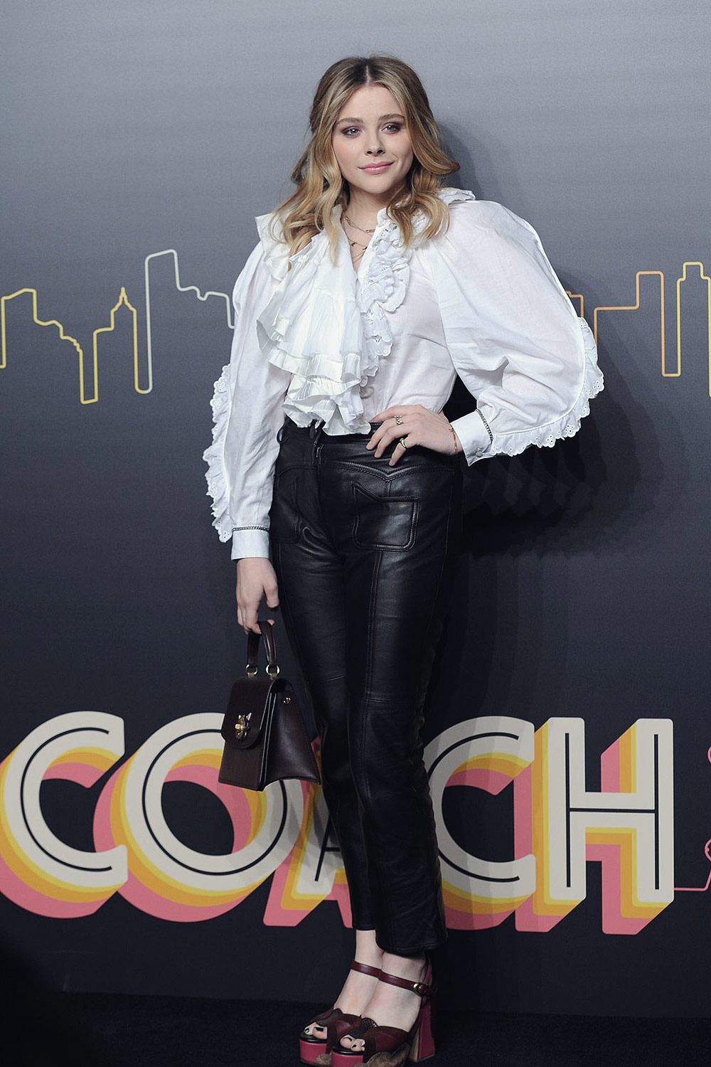 Chloe Moretz attends Coach 2019 Early Autumn Collection Fashion Show