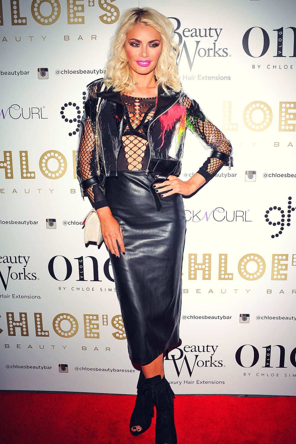 Chloe Sims attends Beauty Vlog Launch in Essex