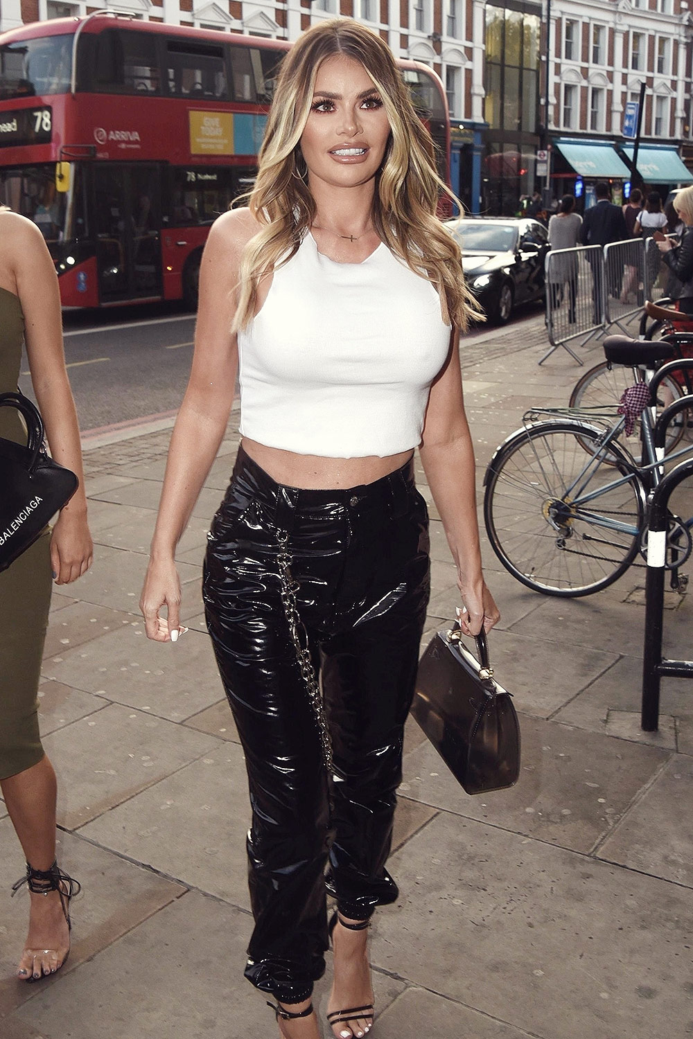 Chloe Sims attends Pete Wicks x Hermano clothing launch party