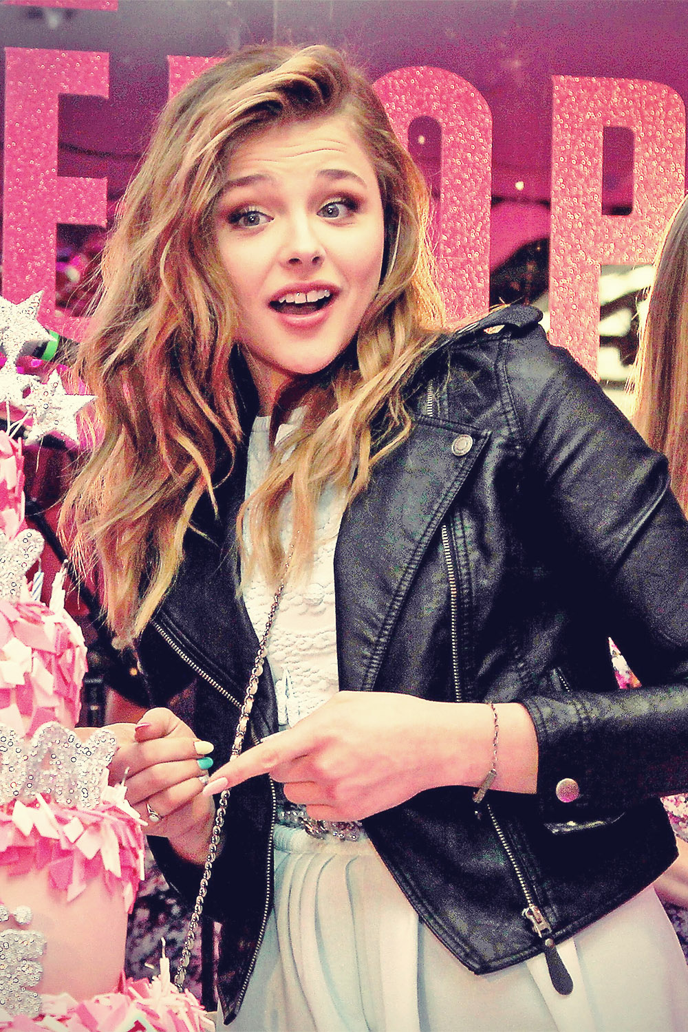 Chloe Moretz Teen Vogue 10th Anniversary
