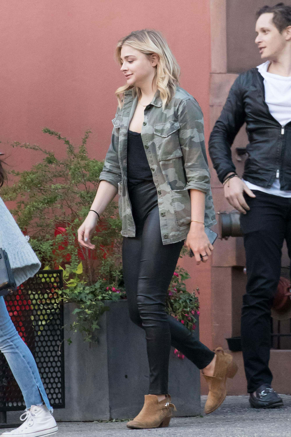 Chloe Moretz out and about in SoHo