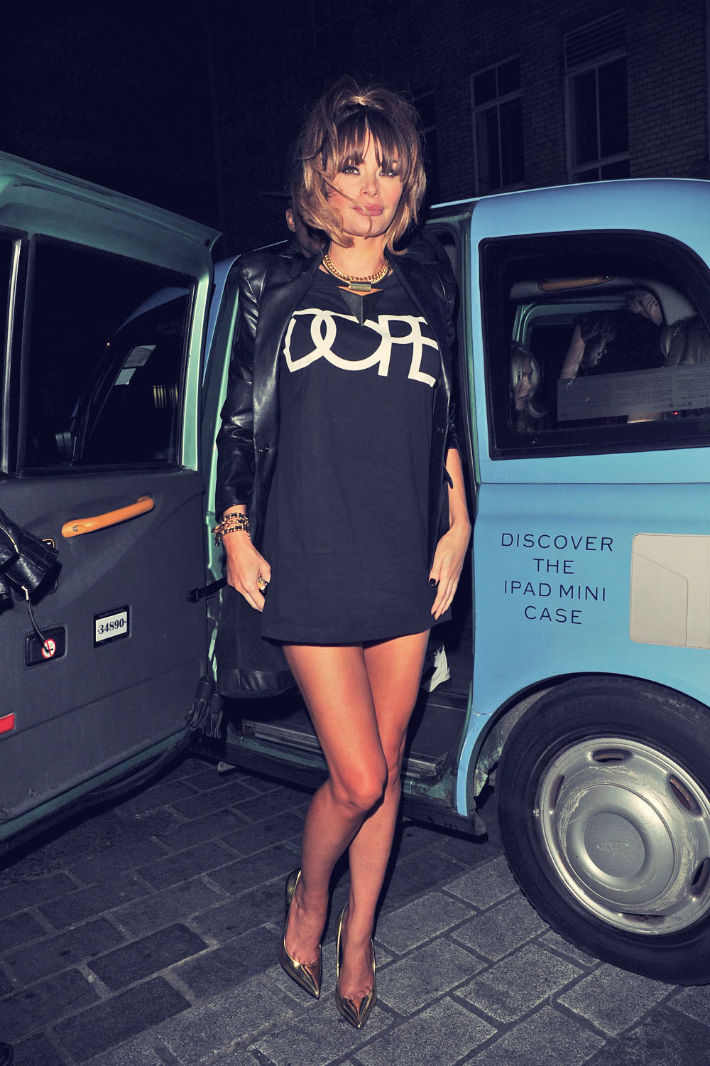 Chloe Sims attends Opening of 9 Swallow Street Club