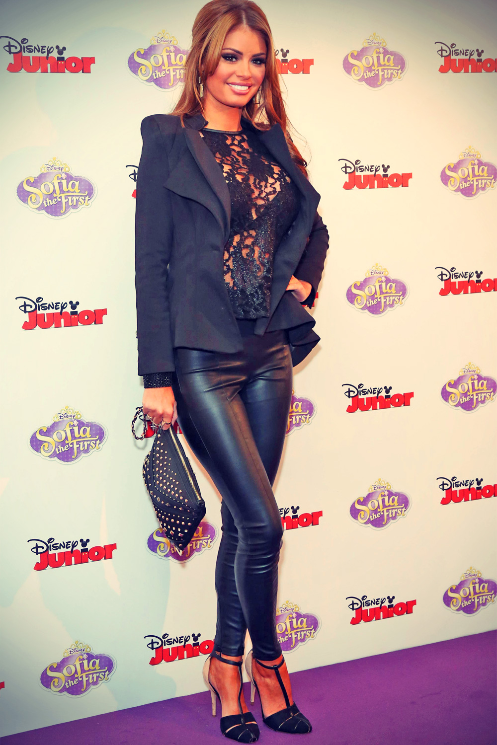 Chloe Sims attends the launch screening of Sofia the First