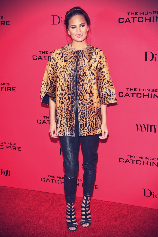 Chrissy Teigen attends New York special screening of HG 2