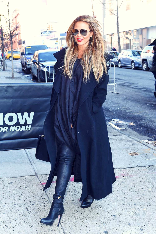 Chrissy Teigen in New York City