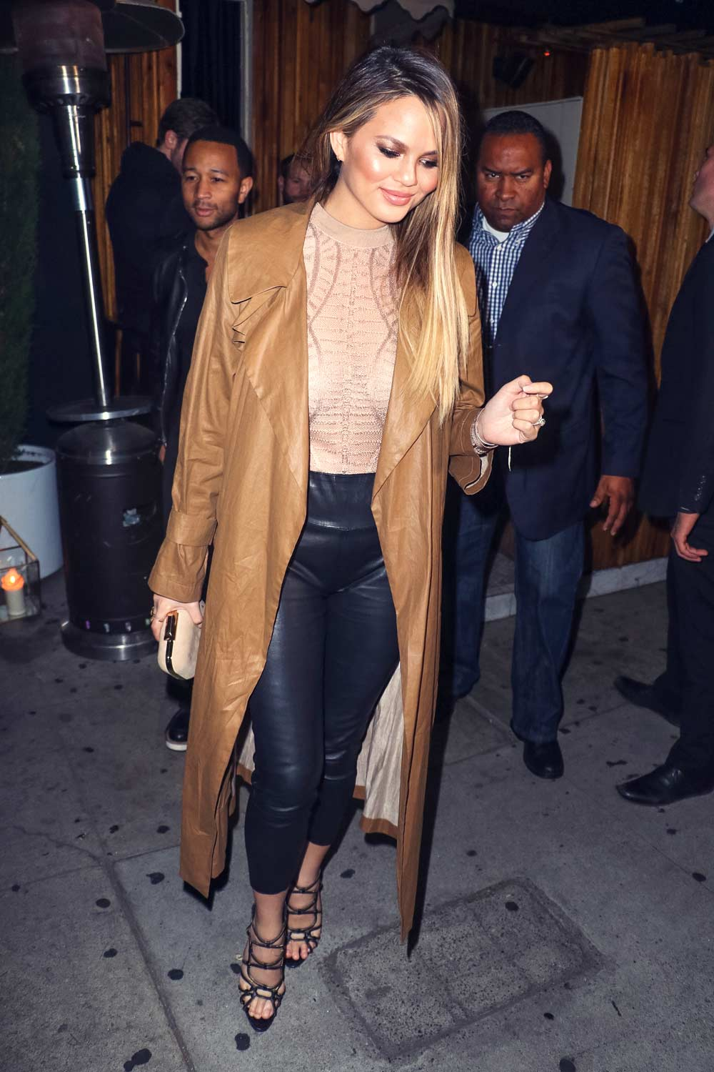 Chrissy Teigen out in West Hollywood