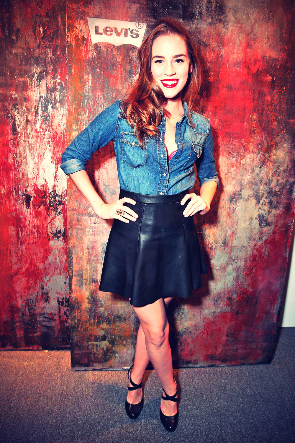 Christa B Allen at Levi's 501 140 year Anniversary Party