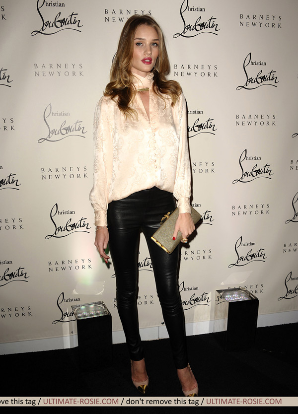 Rosie Huntington-Whiteley at the Christian Louboutin 20th Anniversary And Book